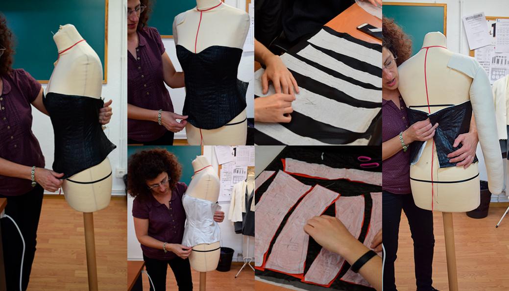 Aprendiendo de corset