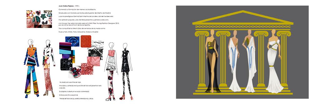 © Presentaciones WGSN: presentacion de colección y diseños para bodas.
