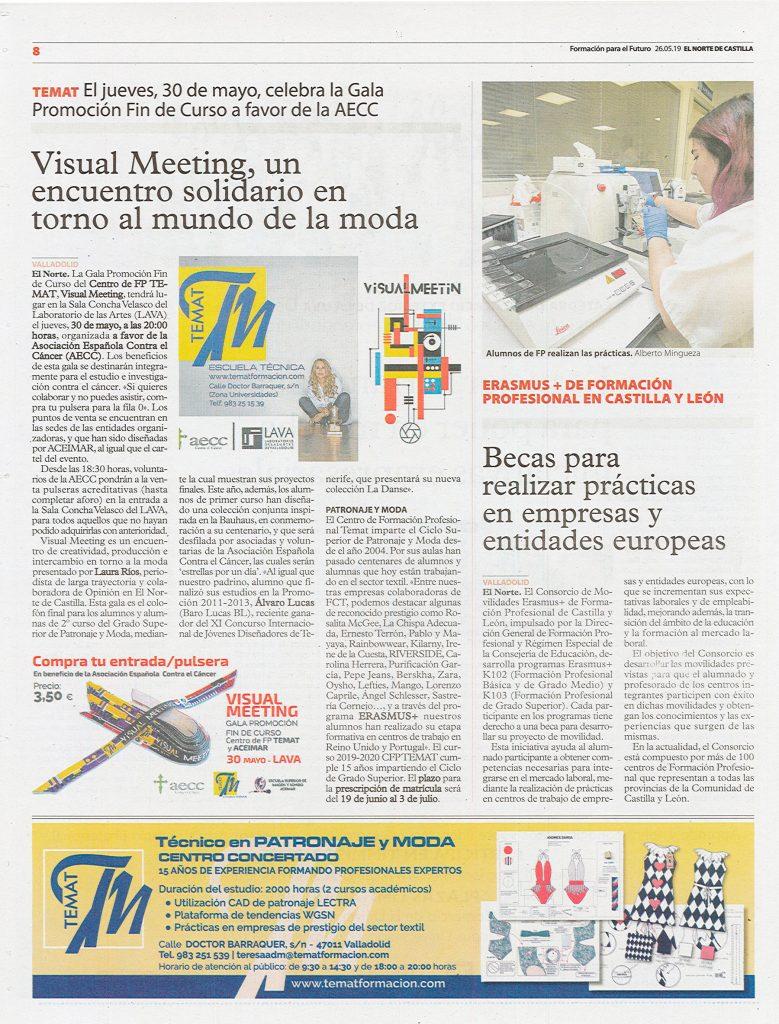 Visual Meeting en El Norte de Castilla