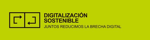 Logotipo campaña Digitalización Sostenible